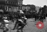 Image of 60 mile bicycle race Chicago Illinois USA, 1936, second 14 stock footage video 65675072520