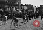 Image of 60 mile bicycle race Chicago Illinois USA, 1936, second 15 stock footage video 65675072520