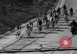Image of 60 mile bicycle race Chicago Illinois USA, 1936, second 16 stock footage video 65675072520