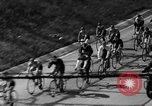 Image of 60 mile bicycle race Chicago Illinois USA, 1936, second 17 stock footage video 65675072520