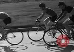 Image of 60 mile bicycle race Chicago Illinois USA, 1936, second 22 stock footage video 65675072520