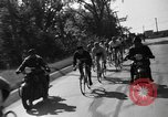 Image of 60 mile bicycle race Chicago Illinois USA, 1936, second 25 stock footage video 65675072520