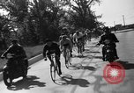 Image of 60 mile bicycle race Chicago Illinois USA, 1936, second 26 stock footage video 65675072520