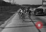 Image of 60 mile bicycle race Chicago Illinois USA, 1936, second 28 stock footage video 65675072520
