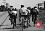 Image of 60 mile bicycle race Chicago Illinois USA, 1936, second 31 stock footage video 65675072520