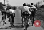 Image of 60 mile bicycle race Chicago Illinois USA, 1936, second 33 stock footage video 65675072520