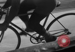 Image of 60 mile bicycle race Chicago Illinois USA, 1936, second 36 stock footage video 65675072520