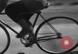 Image of 60 mile bicycle race Chicago Illinois USA, 1936, second 38 stock footage video 65675072520