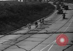 Image of 60 mile bicycle race Chicago Illinois USA, 1936, second 39 stock footage video 65675072520