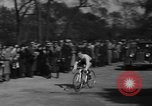 Image of 60 mile bicycle race Chicago Illinois USA, 1936, second 43 stock footage video 65675072520