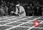 Image of largest pie Talent Oregon USA, 1936, second 14 stock footage video 65675072521