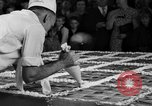 Image of largest pie Talent Oregon USA, 1936, second 15 stock footage video 65675072521