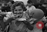 Image of largest pie Talent Oregon USA, 1936, second 27 stock footage video 65675072521