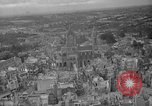 Image of bomb damage Coutances France, 1944, second 2 stock footage video 65675072544