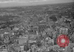 Image of bomb damage Coutances France, 1944, second 5 stock footage video 65675072544