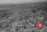 Image of bomb damage Coutances France, 1944, second 6 stock footage video 65675072544