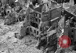 Image of bomb damage Coutances France, 1944, second 8 stock footage video 65675072544