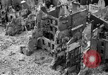 Image of bomb damage Coutances France, 1944, second 9 stock footage video 65675072544
