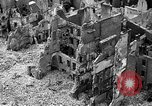 Image of bomb damage Coutances France, 1944, second 10 stock footage video 65675072544