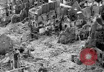 Image of bomb damage Coutances France, 1944, second 13 stock footage video 65675072544
