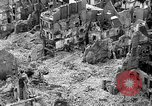 Image of bomb damage Coutances France, 1944, second 14 stock footage video 65675072544