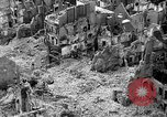 Image of bomb damage Coutances France, 1944, second 15 stock footage video 65675072544