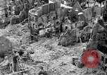 Image of bomb damage Coutances France, 1944, second 16 stock footage video 65675072544