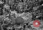 Image of bomb damage Coutances France, 1944, second 17 stock footage video 65675072544