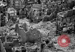 Image of bomb damage Coutances France, 1944, second 18 stock footage video 65675072544