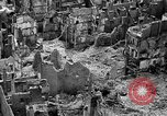 Image of bomb damage Coutances France, 1944, second 20 stock footage video 65675072544