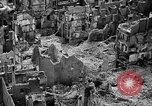 Image of bomb damage Coutances France, 1944, second 22 stock footage video 65675072544