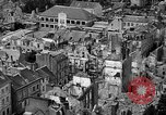 Image of bomb damage Coutances France, 1944, second 25 stock footage video 65675072544