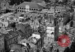 Image of bomb damage Coutances France, 1944, second 27 stock footage video 65675072544