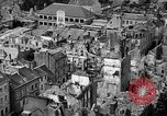 Image of bomb damage Coutances France, 1944, second 28 stock footage video 65675072544