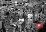Image of bomb damage Coutances France, 1944, second 29 stock footage video 65675072544