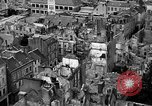 Image of bomb damage Coutances France, 1944, second 33 stock footage video 65675072544