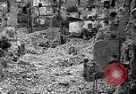 Image of bomb damage Coutances France, 1944, second 35 stock footage video 65675072544