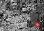 Image of bomb damage Coutances France, 1944, second 36 stock footage video 65675072544