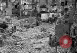Image of bomb damage Coutances France, 1944, second 38 stock footage video 65675072544
