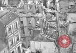 Image of bomb damage Coutances France, 1944, second 41 stock footage video 65675072544