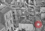 Image of bomb damage Coutances France, 1944, second 42 stock footage video 65675072544