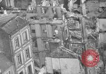Image of bomb damage Coutances France, 1944, second 43 stock footage video 65675072544
