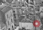 Image of bomb damage Coutances France, 1944, second 44 stock footage video 65675072544