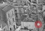Image of bomb damage Coutances France, 1944, second 46 stock footage video 65675072544