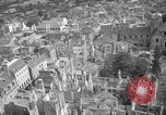 Image of bomb damage Coutances France, 1944, second 47 stock footage video 65675072544