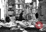 Image of bomb damage Coutances France, 1944, second 48 stock footage video 65675072544