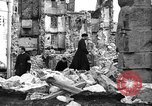 Image of bomb damage Coutances France, 1944, second 50 stock footage video 65675072544