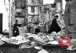 Image of bomb damage Coutances France, 1944, second 51 stock footage video 65675072544