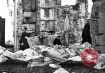 Image of bomb damage Coutances France, 1944, second 52 stock footage video 65675072544