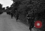 Image of U.S.4th Armored Division in Operation Cobra in World War II Periers France, 1944, second 6 stock footage video 65675072546